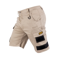 DEWALT Size 32 Khaki Pro Stretch Extreme Comfort Workwear Breathable Shorts