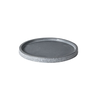 Tuscan Path Grey Stream Lite Egg Saucer - 330mm