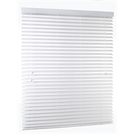 Zone Interiors 50mm Vermont Timber Venetian Blind  - 1800mm x 1500mm White