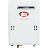 Dux 17L/min Continuous Flow Water Heater - 50° LPG