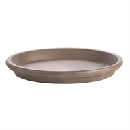 Northcote Pottery Greige Terracotta Saucer - 21mm