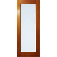 Woodcraft Doors 2400 x 720 x 35mm Frosted Laminate Glass One Lite Internal Door