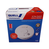 Quell Photoelectric 10yr Battery Smoke Alarm Trade Pack