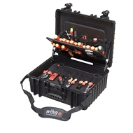 Wiha 80 Piece XL Rolling Tool Case Kit