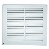 Haron 235 x 230mm White Wall Vent