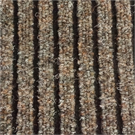 Ideal DIY 67cm Beige Dallas Wide Rib Carpet Runner - Linear Metre