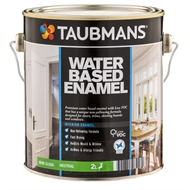 Taubmans 2L Neutral Satin Water Based Enamel