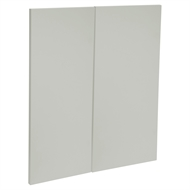 Kaboodle White Pepper Modern Corner Base Cabinet Doors - 2 Pack
