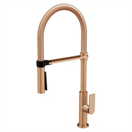 Mondella WELS 6 Star 4.5L/min Brushed Rose Gold Signature Vege Spray Sink Mixer