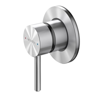 Methven Stainless Steel Turoa Shower Mixer