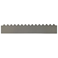 GumLeaf 1200mm Colorbond Metal Corrugated Gutter Guard - Monument