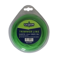 Saxon 50m Round Trimmer Line - 2.0mm