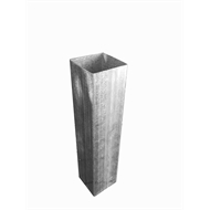 Steel-Deck 90 x 8000mm Galvanised Stump Tube