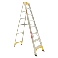 Gorilla 2.4m 150kg Single Side Aluminium Step Ladder With Tray