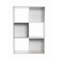 Clever Cube Compact 2 x 3 White Storage Unit