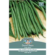 Mr Fothergill's Snapbean Dwarf Bean Vegetable Seeds