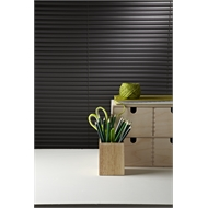 Zone Interiors 90 x 210cm 25mm Aluminium Slimline Dusk Venetian Blind - 900mm x 2100mm Charcoal