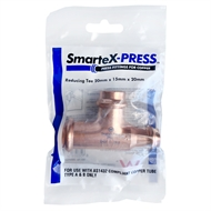 SmarteX-Press 20 x 15 x 20mm Copper Reducing Tee