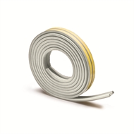 Raven 5m Superior White Door and Window Weather Strip - RP48 White