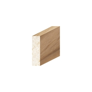 Porta 30 x 8mm 2.4m Tasmanian Oak Square Edge Coverstrap Moulding