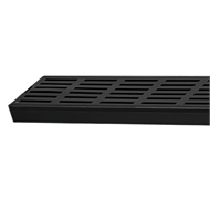Mondella 1200mm Vivace Black Rectangular Floor Grate