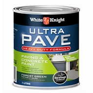 White Knight 1L Forest Green Heavy Duty Ultra Pave Paint