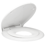 Mondella White Resonance Toilet Seat