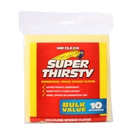 Mr Clean Super Thirsty Sponge - 10 Pack