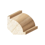 Porta 30 x 30mm 2.4m Clear Pine Ovolo Moulding