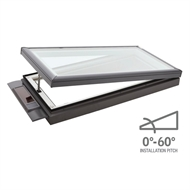 VELUX 870 x 870mm Flat Roof Solar Skylight