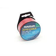 Narva 4mm 10Amp Red and Black Auto Electrical Cable