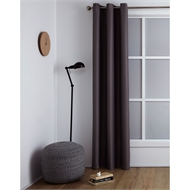 Windoware 1200 x 2230mm Galaxy Smoke Room Darkening Eyelet Curtain