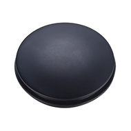 Kinetic 32mm Matte Black Pop Up Waste Cover
