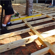 Good Times Modular Decking 1113 x 555mm Treated Pine Panel