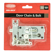 Lockwood Bright Chrome Door Bolt / Chain
