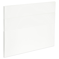 Kaboodle 900mm Gloss White Modern 3 Drawer Panels