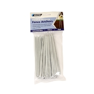 Whites Wire Mesh Fence Anchors - 20 Pack