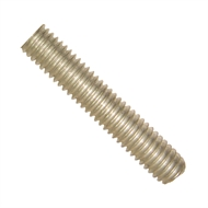 Macsim 20mm x 1.2m Galvanised Steel Threaded Rod