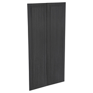 Kaboodle 900mm Black Forest Heritage Pantry Doors - 2 Pack