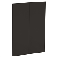 Kaboodle 900mm Grey Spice Modern Medium Pantry Doors - 2 Pack
