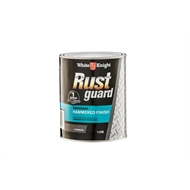 White Knight Rustguard 1L Charcoal Hammered Finished Metal Paint
