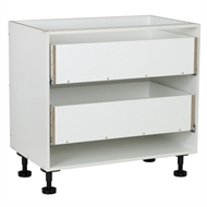 Kaboodle 900mm 2 Drawer Base Cabinet