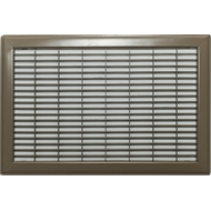 Accord 25 x 40cm Brown Floor Return Air Grille