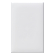 HPM LINEA Blank Coverplate - White