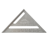 Empire 180mm Aluminium Rafter Square