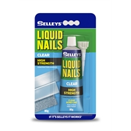 Selleys Liquid Nails 80g Clear Construction Adhesive