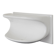 Roberts Designs 200 x 100mm White Supreme Soap Holder Tile