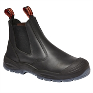 Hard Yakka Black Utility Gusset Safety Boot - Size 14