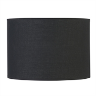 Verve Design Medium Black Dusk Mix and Match Barrel Lamp Shade