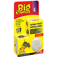 The Big Cheese Sonic Pest Repeller - 3 Pack